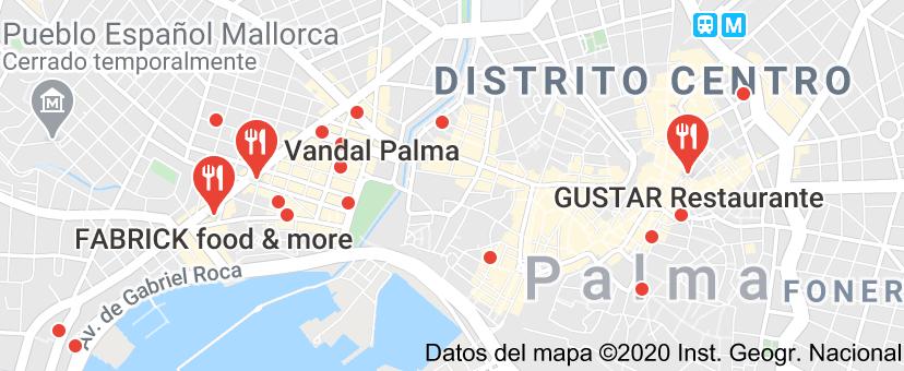 Restaurante Palma Buscar Con Google Map Map Screenshot Bootcamp
