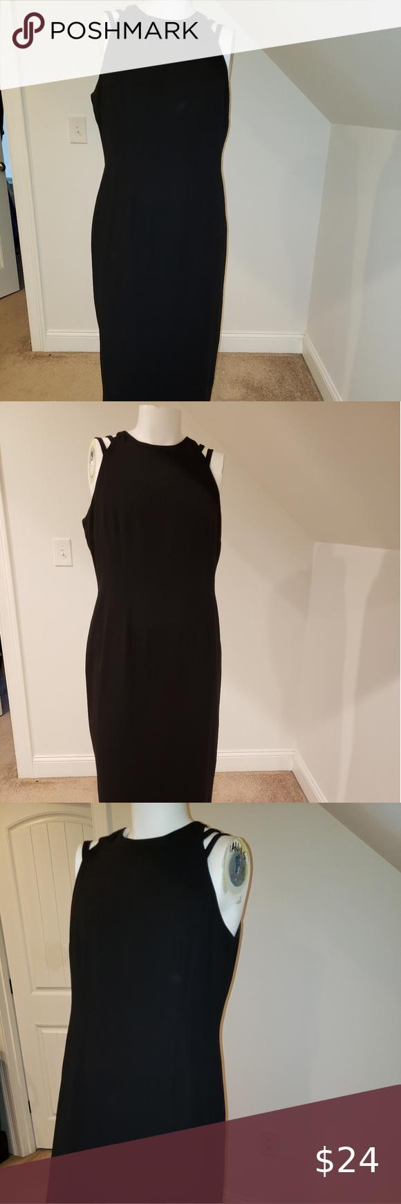 Evan Picone Black Long Dress Size 16 Long Black Dress Size 16 Dresses Dresses [ 1740 x 580 Pixel ]