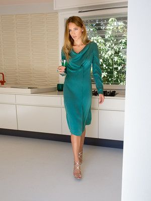 burda style, Schnittmuster zum Download - Kleid in raffiniertem ...