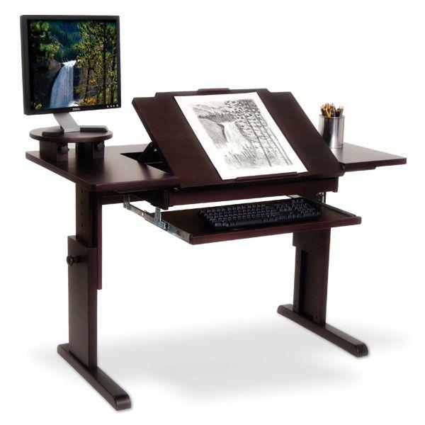 Ah Art Desk For Traditional Or Computer Art Escritorio De