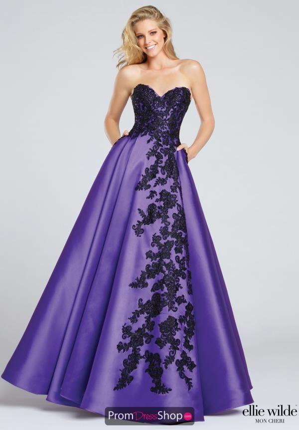 Strapless Lace Ellie Wilde Dress EW117010   Pinterest   Vestiditos