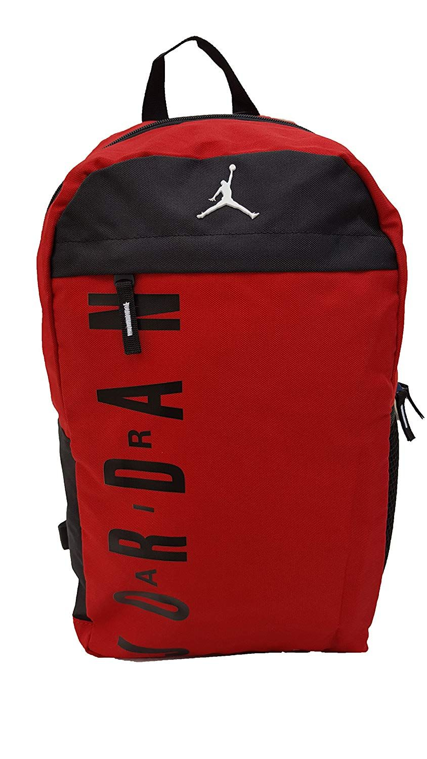 41.37-Nike Jordan Jumpman Youth Backpack (One Size, Gym Red) Jordan Shoes 5bf3903b75