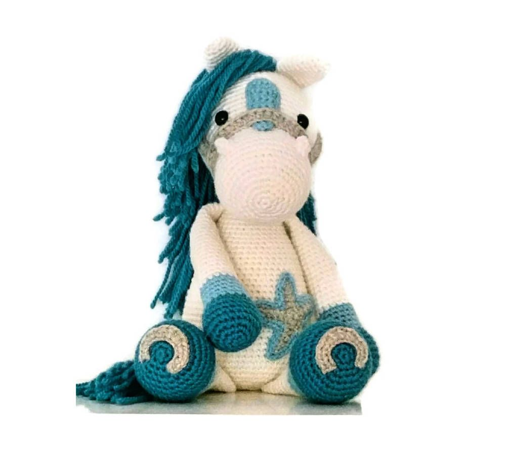 Photo of Crochet horse amigurumi, soft toys, horse soft toy, horse amigurumi, crochet horse, handmade horse, gifts for kids, kids decor
