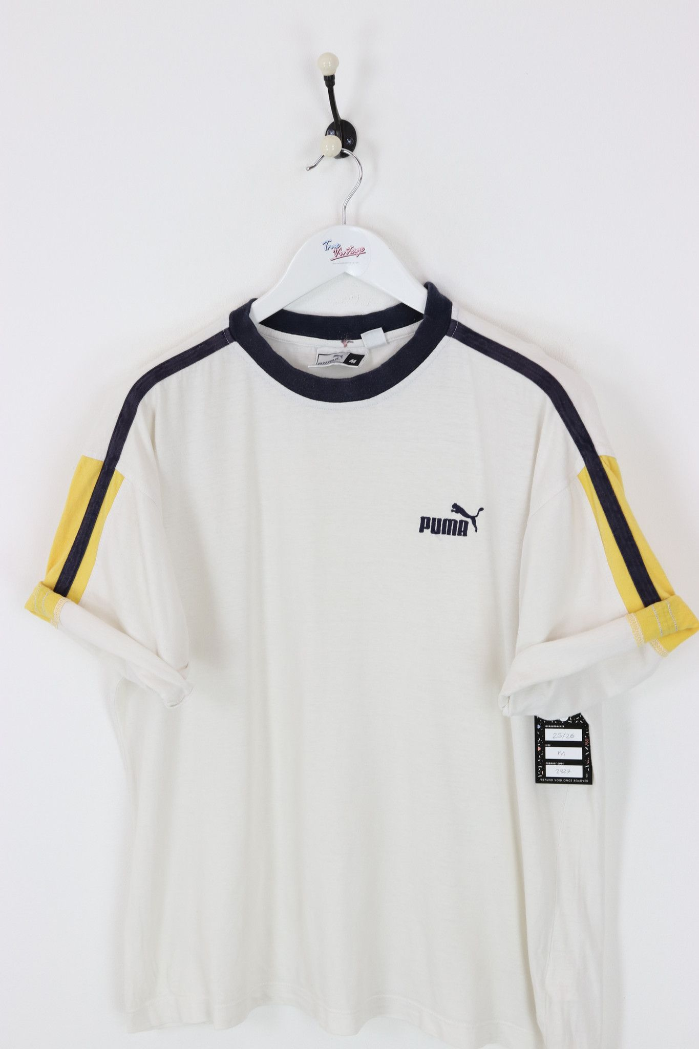 c8401ff5384 Very good condition, vintage Puma t-shirt. Measurements: Pit to pit - 25