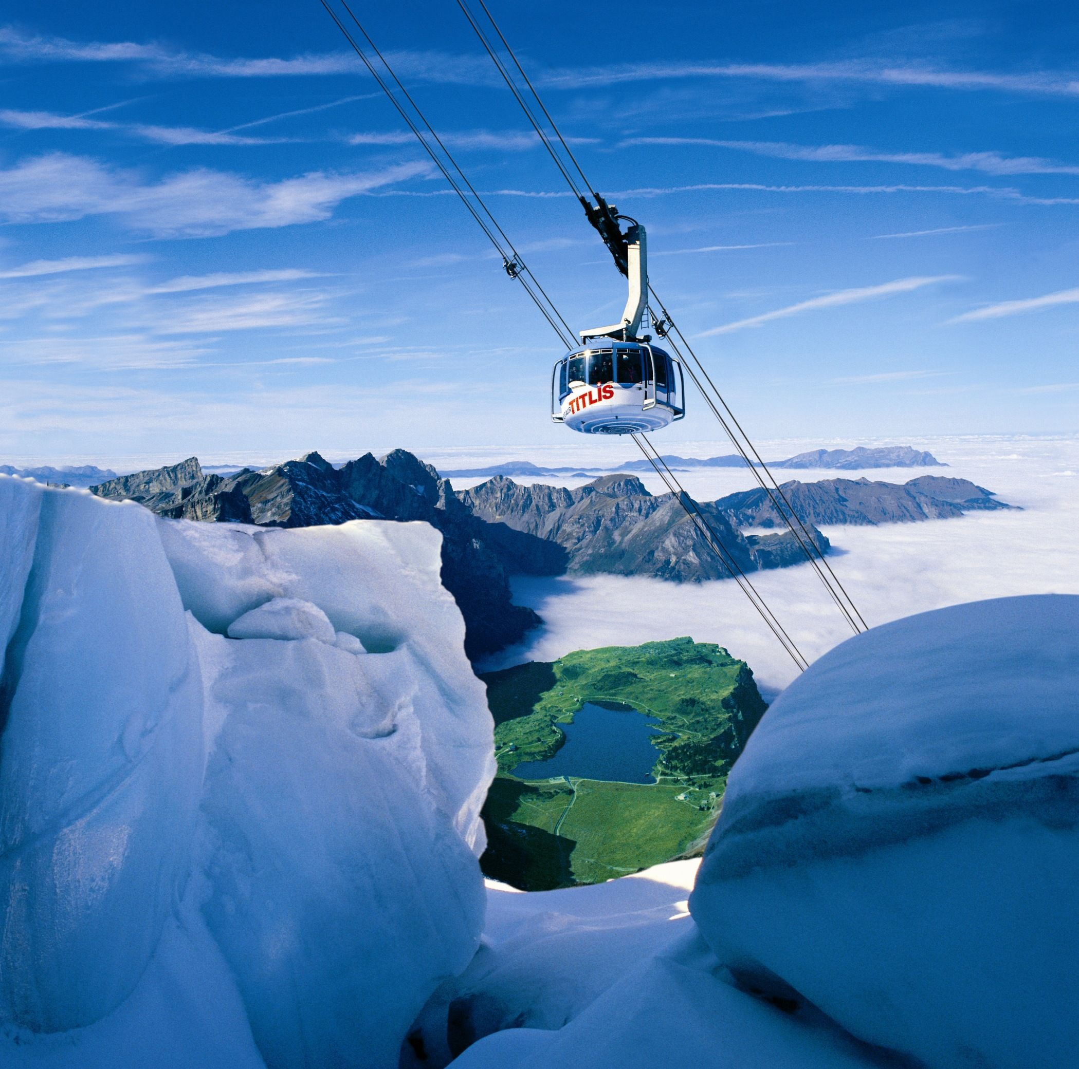 Best Places In The Us To Snowboard: Permanent Ice & Snow At The Top Of The World & A Revolving