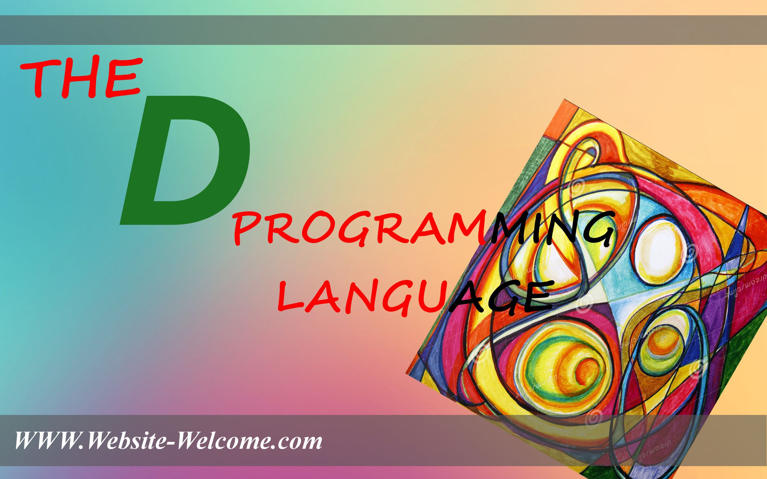 5437dbd076 It is a programming language used for general purpose applications and  systems. It is a high level language that means the code written in D  language is ...