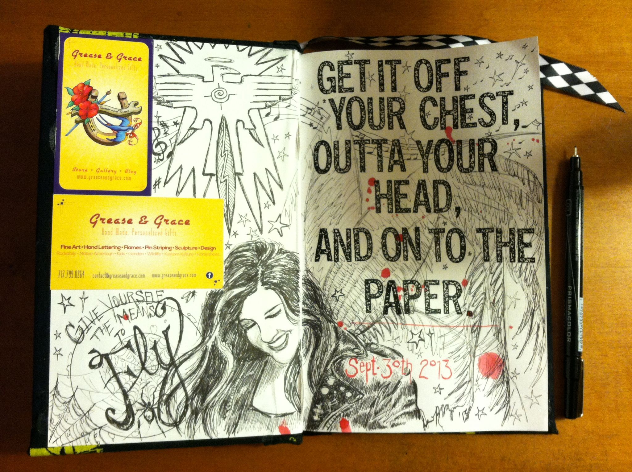 Cover Page For Drawing Book : Sketchbook cover page ideas pixshark images