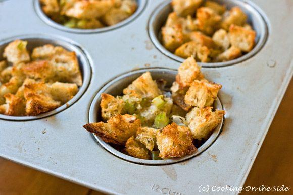 Herb Stuffing Muffins