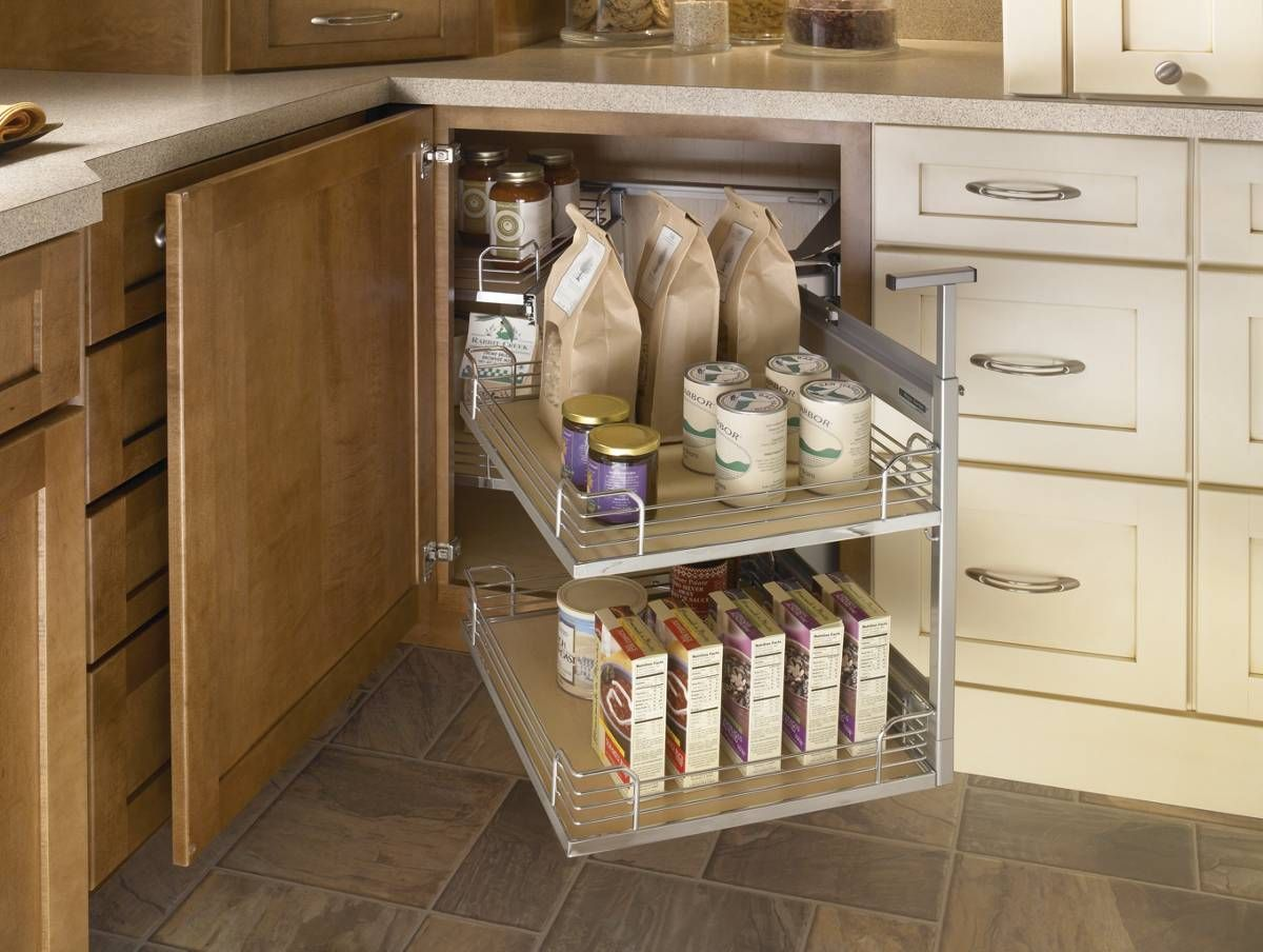 Stylish Storage Solutions Yorktowne Cabinetry Corner Kitchen Cabinet Blind Corner Cabinet Corner Cabinet Solutions