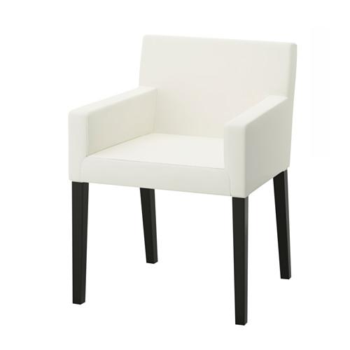 NILS Chaise A Accoudoirs IKEA Le Siege Et Dossier Rembourres Ainsi Que Les Offrent Un Grand Confort Daposassise