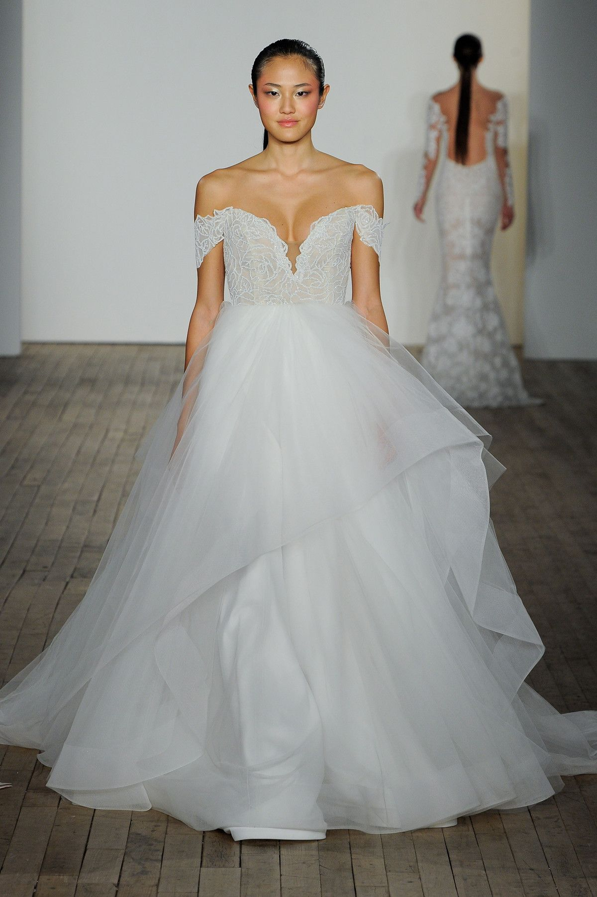 Best wedding dresses for short waisted  Blush by Hayley Paige Fall  Wedding Dress Collection  wedding