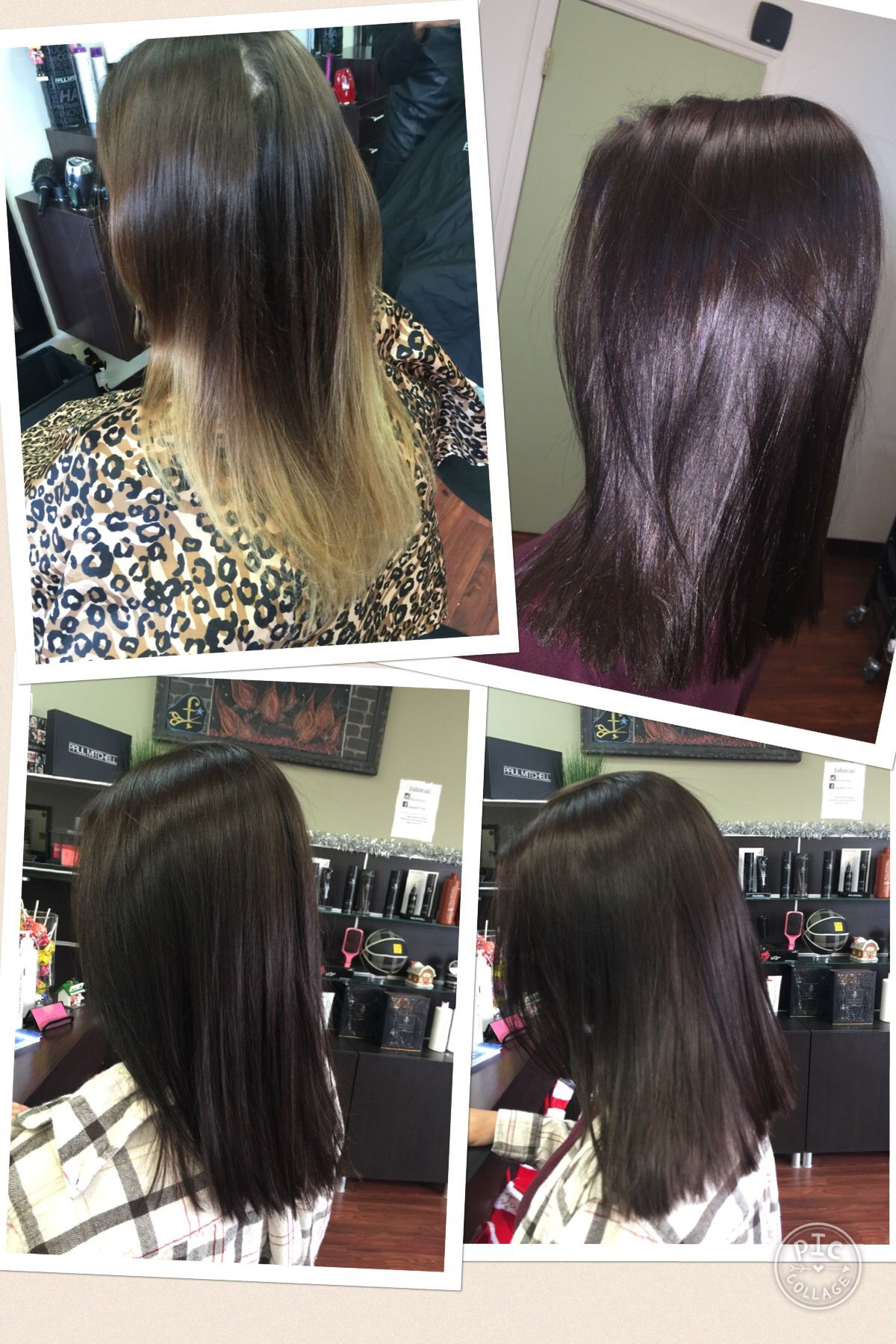 Chocolate Brown Paul Mitchell The Color Xg 4n 4rb 6wb Hair
