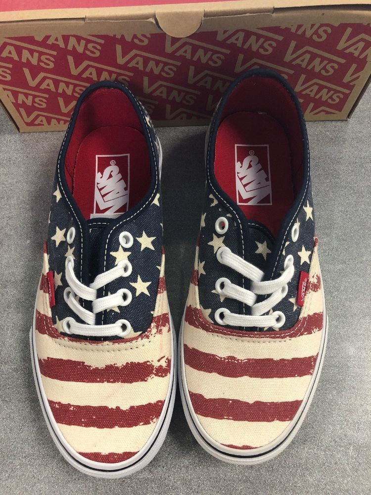 43b5ce4b1df New With Box Vans Authentic Shoes Mens Size 4.5  fashion  clothing  shoes   accessories  mensshoes  casualshoes (ebay link)