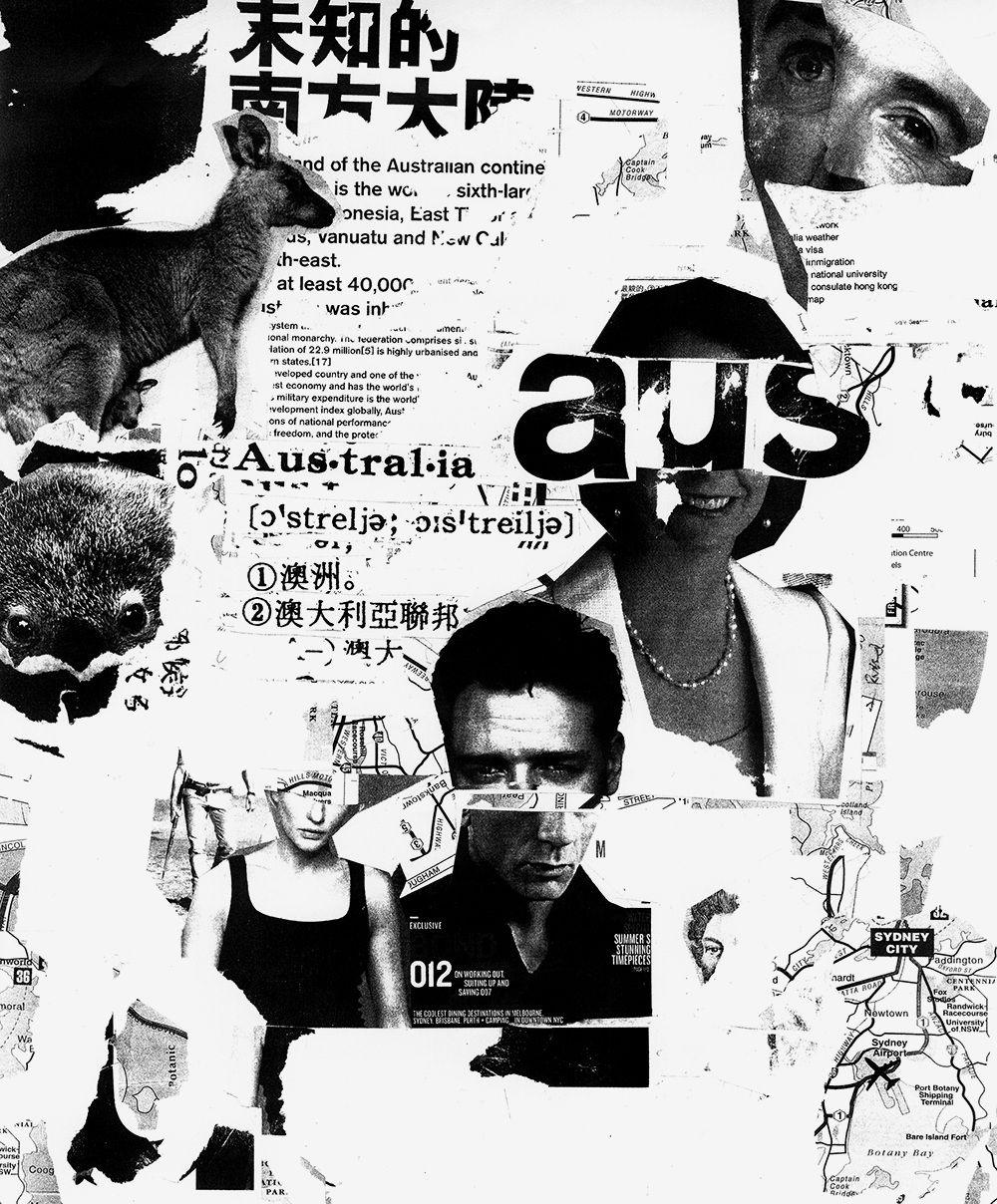 A Visual Interpretation of Australia - wangzhihong.com #artdirection