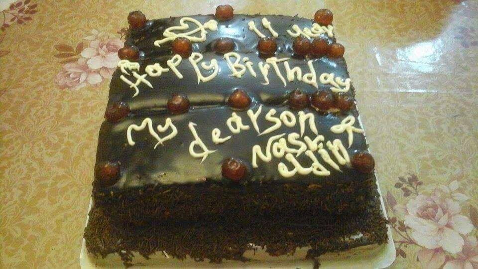تورتة عيد ميلاد ابني نصر الدين Desserts Cake Food