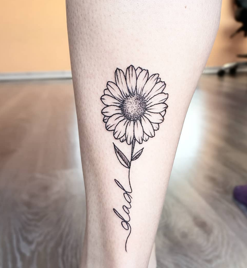 Photo of 45 Simple Unique Sunflower Tattoo Ideas For Woman