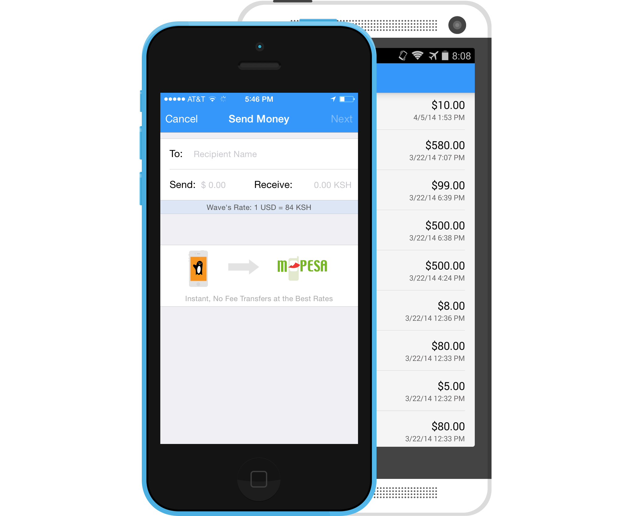 Wave Send Money To East Africa With