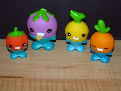 Octonauts Vegimals Cake Toppers from Fisher Price Childhood