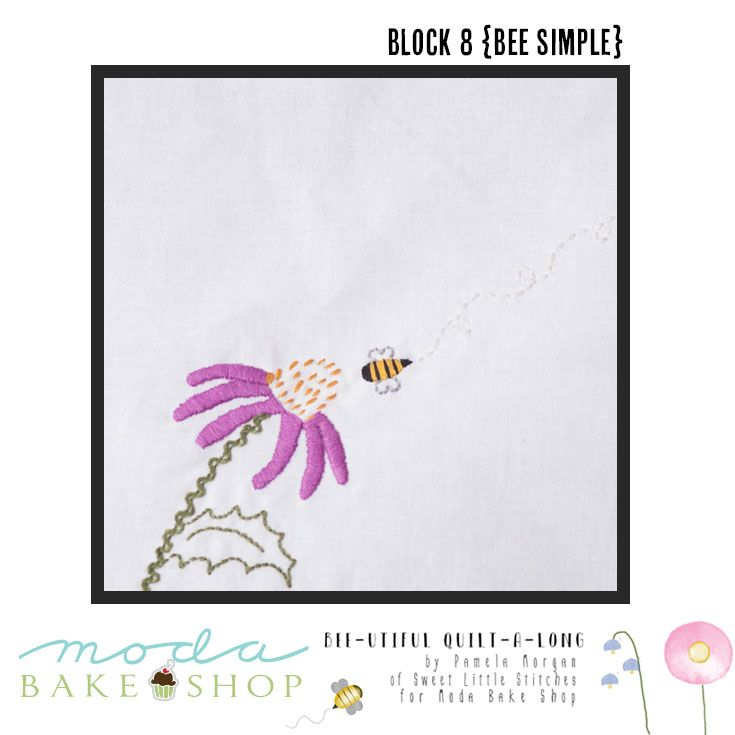 Bee-utiful QAL Block 8 {Bee Simple}