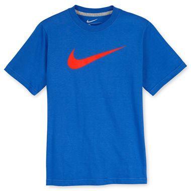 Nike® Swoosh Tee - Boys 8-20 - jcpenney   Nike shirts ...