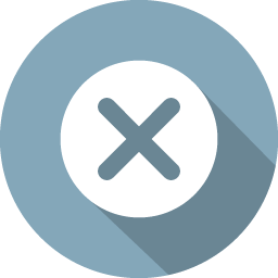 Close Icon 100 Flat Iconset Graphicloads Icon Closed Flat Icon