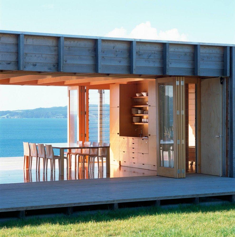 Coromandel Bach Crosson Clarke Carnachan Architects Beach House Interior Design Beach House Design Container House