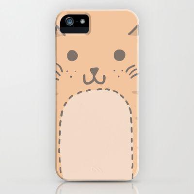Big Cat iPhone & iPod Case by Kitten Rain