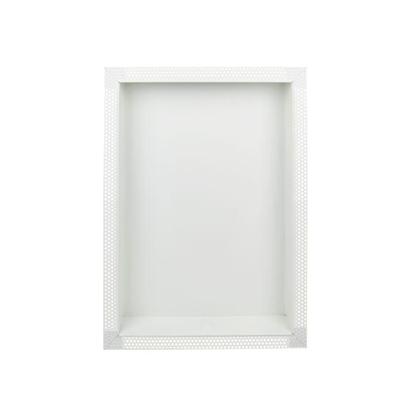 find romak 600 x 450mm off white steel wall insert niche at bunnings warehouse visit