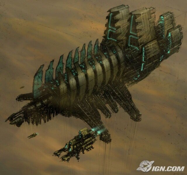 Usg Ishimura Dead Space Aftermath 2011 Dead Space Space