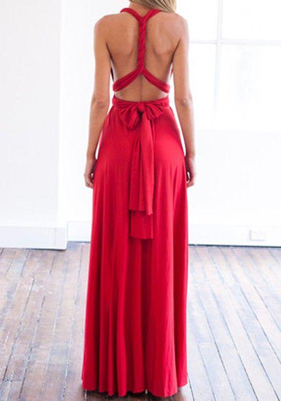 Abendkleider lang rot aus deutschland