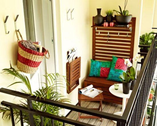 Wie Gestalte Ich Einen Kleinen Balkon klapptisch klappstuhl möbel kleiner balkon balkonien