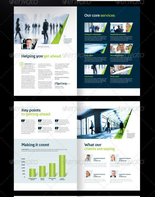 Best Corporate Brochure Print Templates Of   Corporate