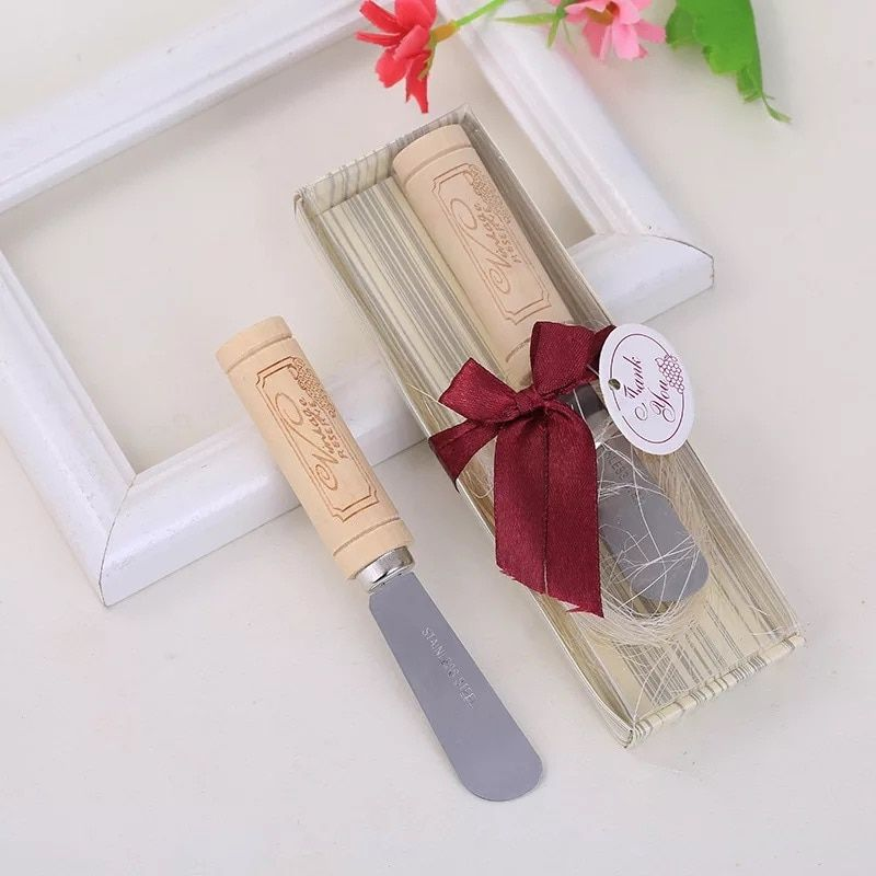 Return Gifts For Wedding Anniversary: 50pcs Lot Wholesale Butter Knife Bridal Shower Giveaways