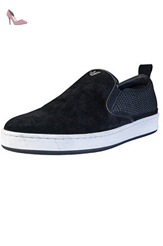 Armani Jeans , Baskets mode pour homme noir noir - noir - noir, - Chaussures