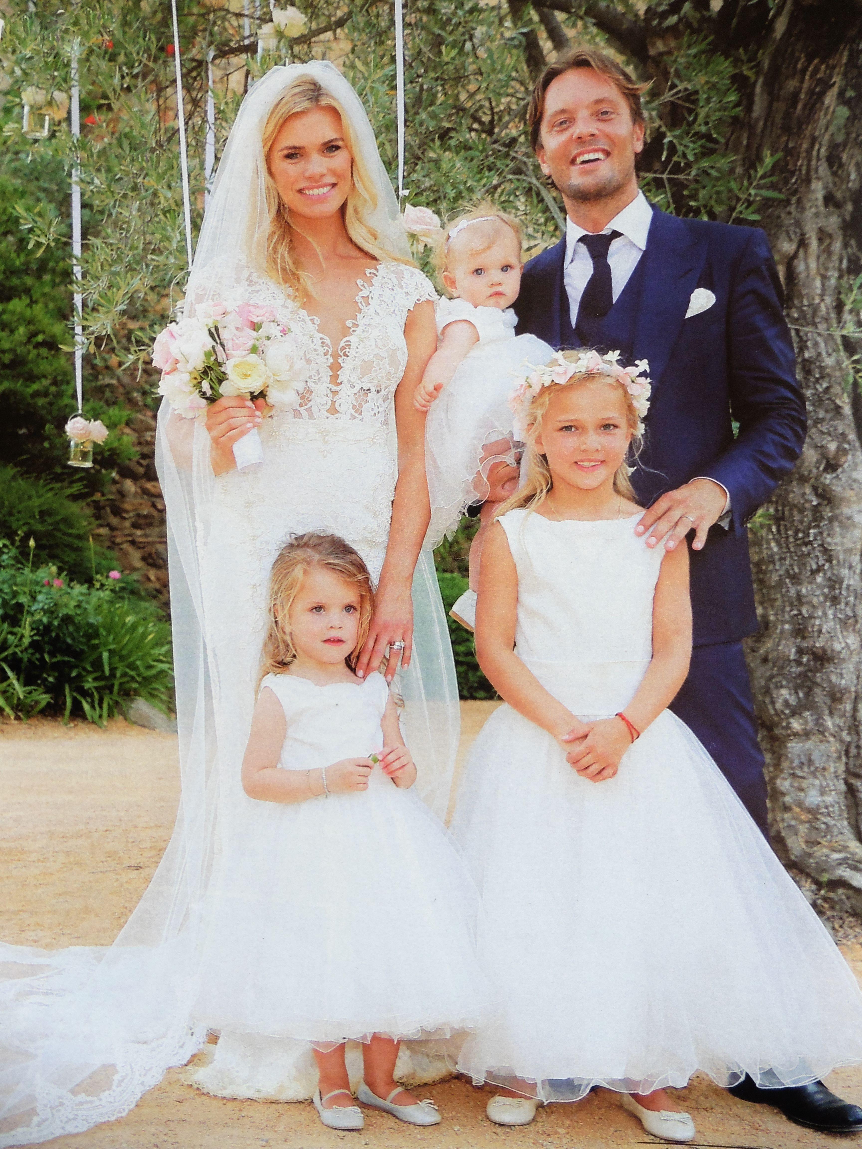 Nicolet van Dam trouwt op 4 juli 2015 in Spanje met haar Bas