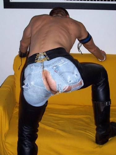 from Sawyer gay ripped pants