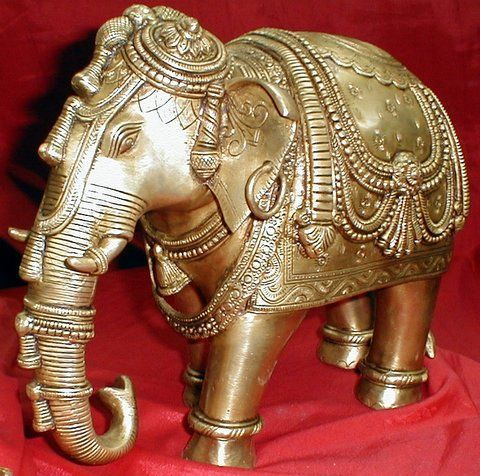 Indian Home Decor On Buy Indian Carved Brass Elephant Figurine For Home Decor Online