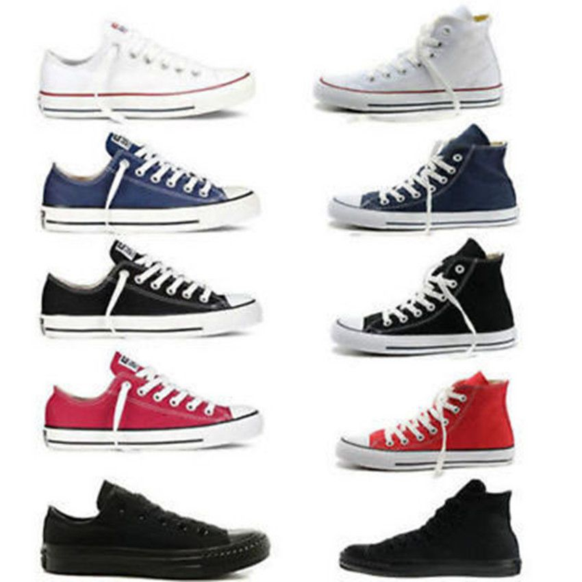 Men/Womens ALLSTARs Chuck Taylor Ox Low High Top shoes casual Canvas  Sneakers S