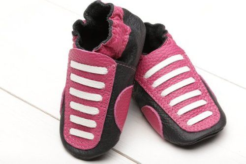 74e6480ad1c5c Buy Now Leather Baby Shoes Soft Sole Baby Booties Sneakers...