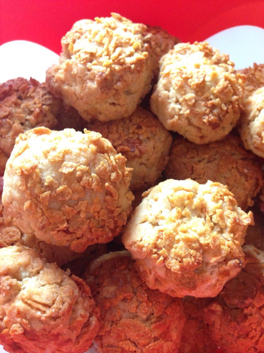 Cornflakese li kurabiye