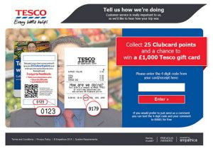 Www Tescoviews Com Tesco Feedback Survey With Images Online