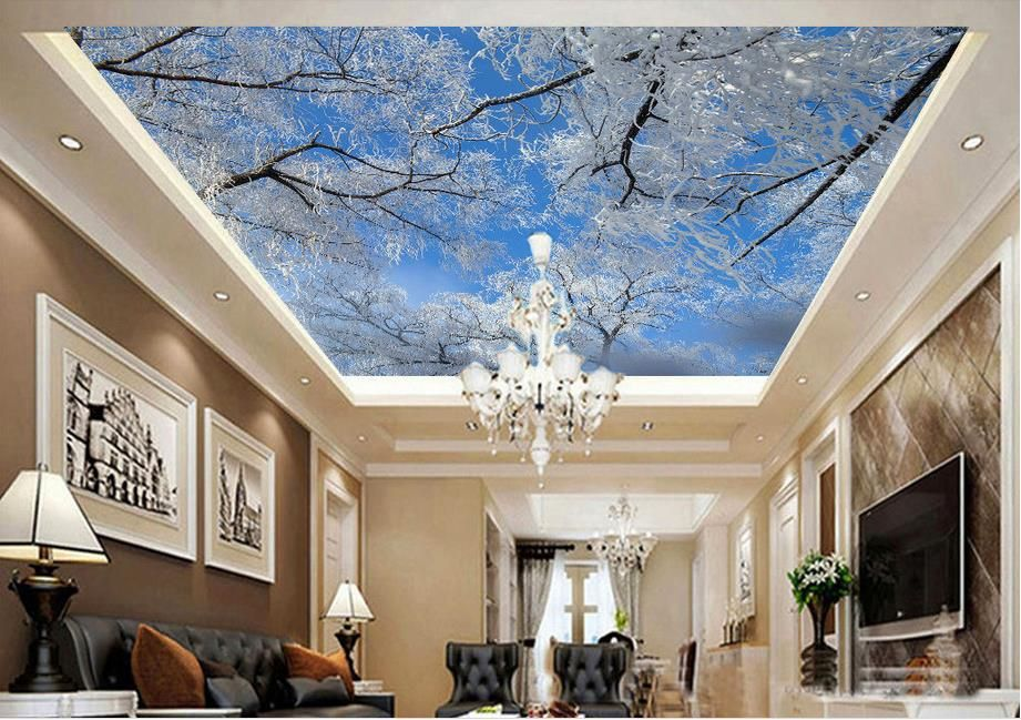 g nstige individuelle fototapeten 3d decke wandbilder wallpaper pfirsich wolken 3d decke tapete. Black Bedroom Furniture Sets. Home Design Ideas