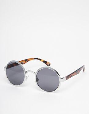 Achetez Vans - Lunettes de soleil rondes en métal sur ASOS. Découvrez la  mode en ligne. 9ad8638da635