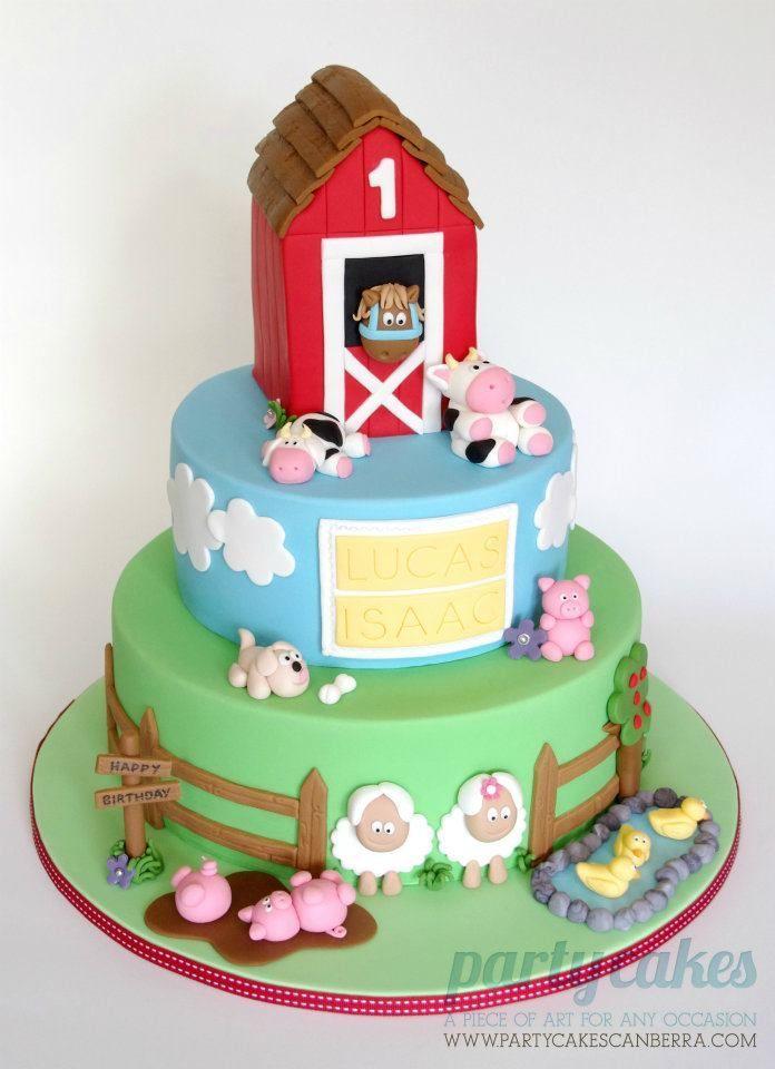 Farm Themed Cake  Cake Pop Ideas Th Birthday Cakes Birthday - 35th birthday cake ideas