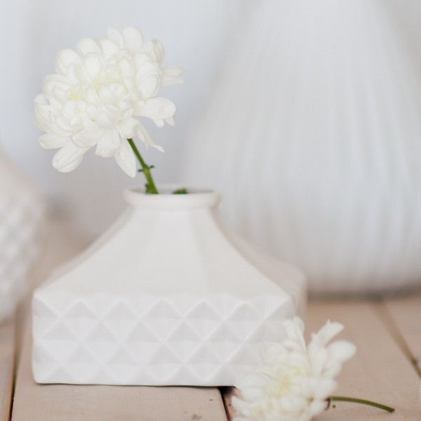 Lattice Ceramic Vase Short Rectangle 18 Nz Kitchen Pinterest