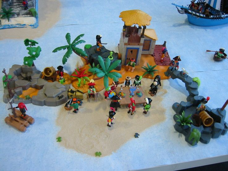 Playmobil Pirate Island Playmobil Pinterest Playmobil
