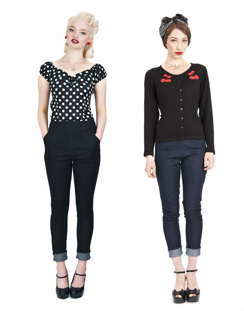 50s Outfit For Women With Jeans