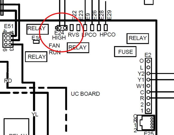 Two Stage Furnace Air Conditioner Thermostat Control Problem Thermostat Air Conditioner House Wiring