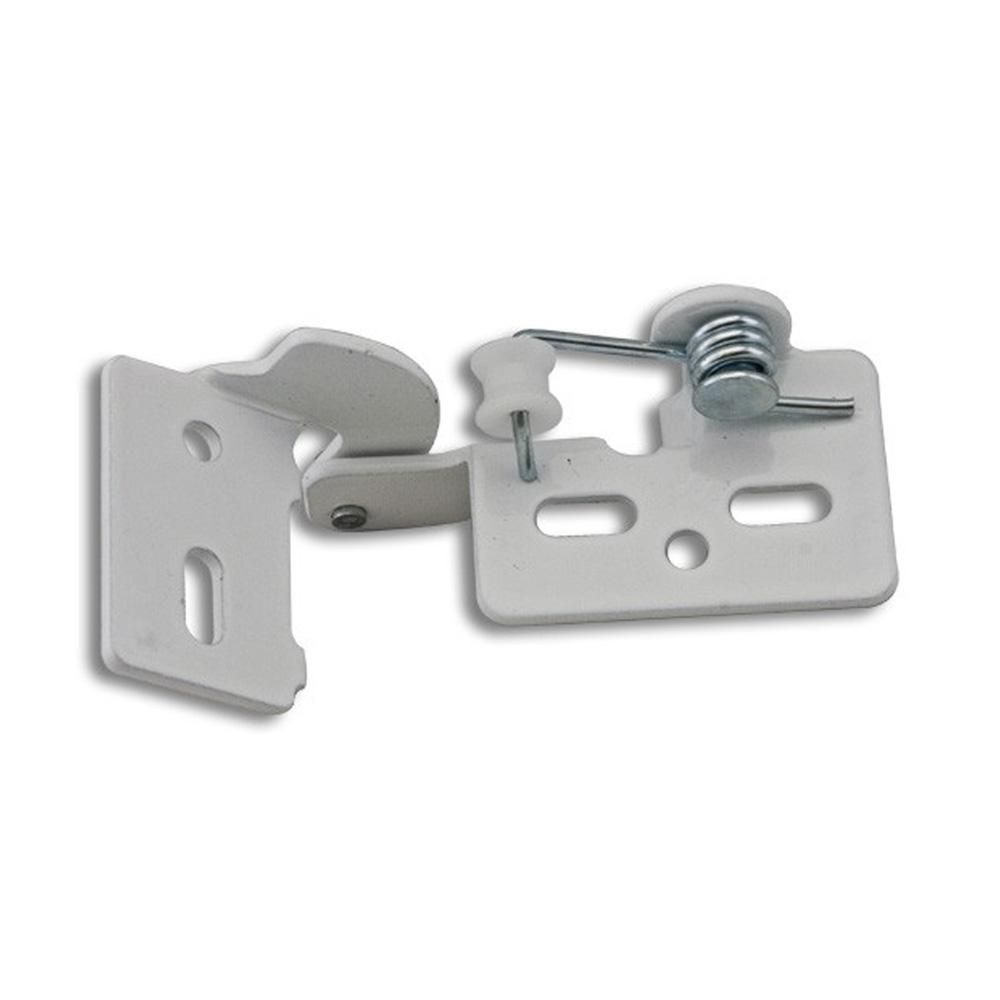 Youngdale White 4 3 8 In Lip Inset Non Wrap Self Closing Hinge 54 104 01 The Home Depot Self Closing Hinges European Hinges Hinges