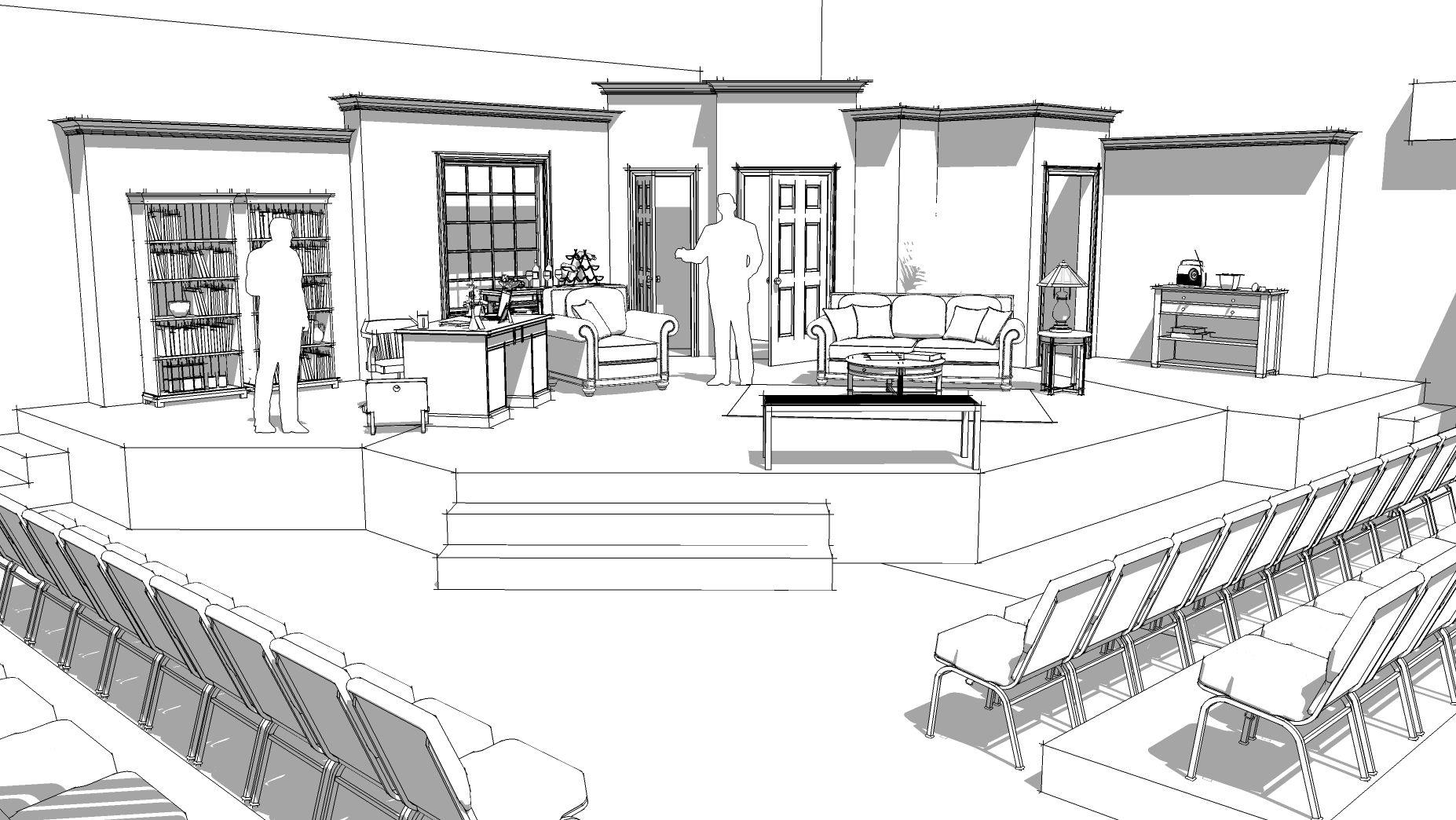 Ordinary People Design Sketch Design Sketch Model Drawing Design